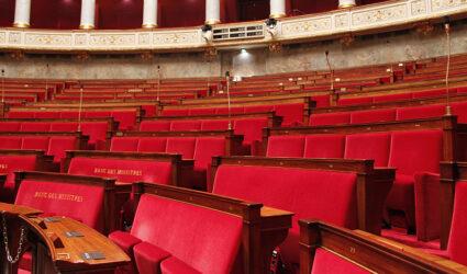 Hémicycle de l'Assemblée Nationale à Paris